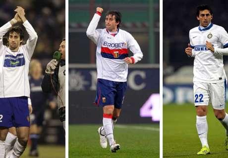 El saludo de Zaragoza, Genoa e Inter