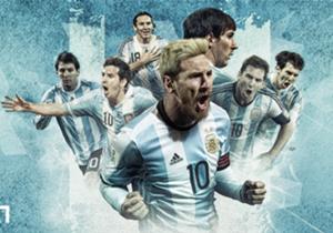 No seu regresso à seleção, La Pulga marcou contra o Uruguai e chegou aos 56 gols com a camisa albiceleste