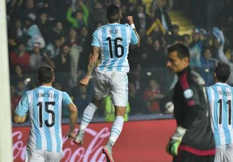 LIVE: Argentina 2-0 Paraguay