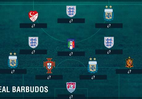 Once ideal de jugadores barbudos