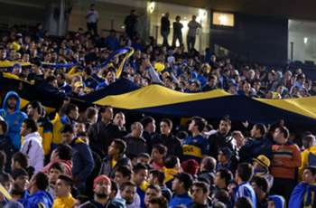 VIDEO: Eight injured in Boca Juniors fan stampede