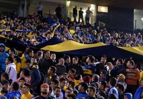 VIDEO: Boca Juniors fan stampede