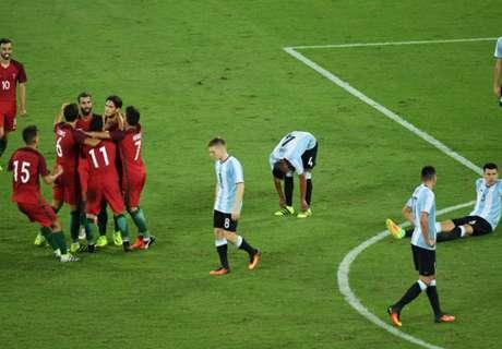 Rio 2016: Portugal vence Argentina