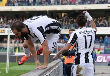 El tridente de Juventus