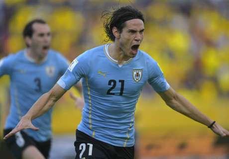 L'Uruguay s'impose, Cavani décisif