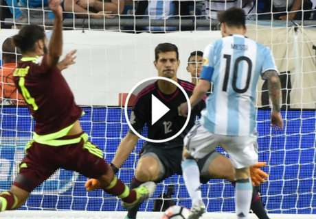 Cuplikan: Argentina 4-1 Venezuela