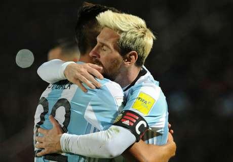 Puntos para Argentina rumbo al Mundial