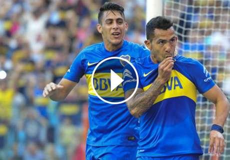 ► El golazo de Tevez con Boca