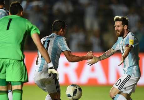La evolución de la Selección argentina