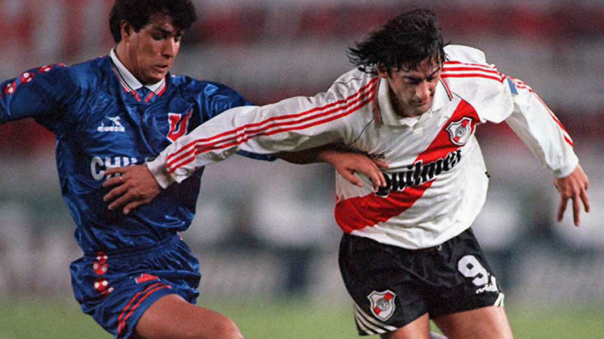 Enzo Francescoli River Universidad de Chile 1996 Goal