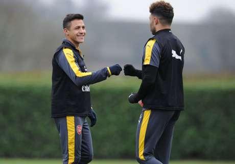 Alexis retornó a Londres
