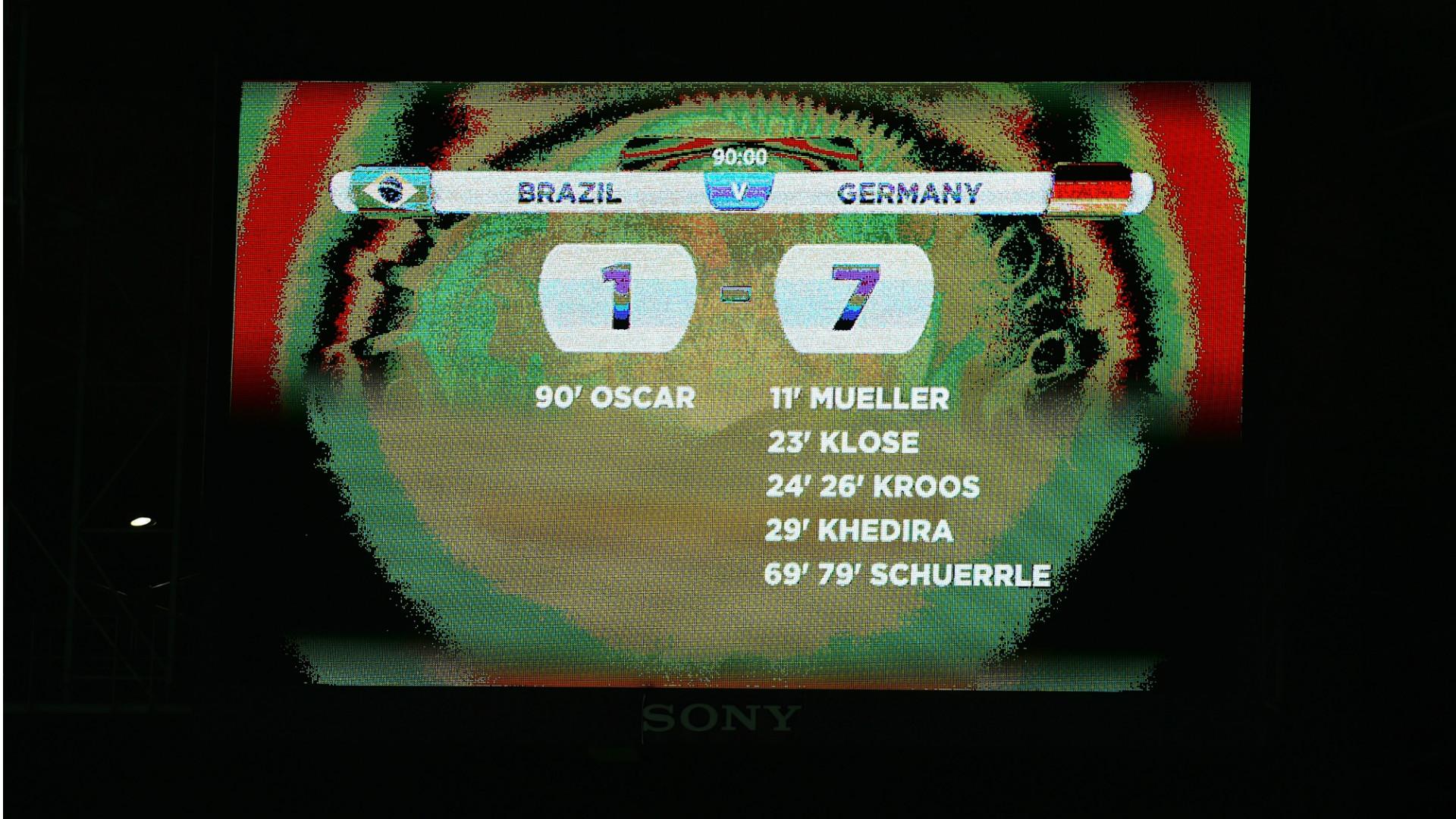 ผลการค้นหารูปภาพสำหรับ แซมบ้ามั่นใจไม่ซ้ำรอยแพ้เยอรมัน 1-7