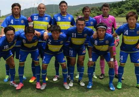 El club de Takahara, con la Azul y Oro