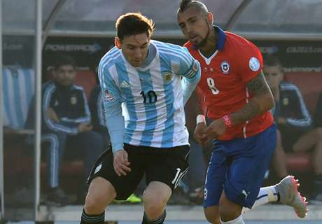 LIVE: Chile 0-0 Argentina