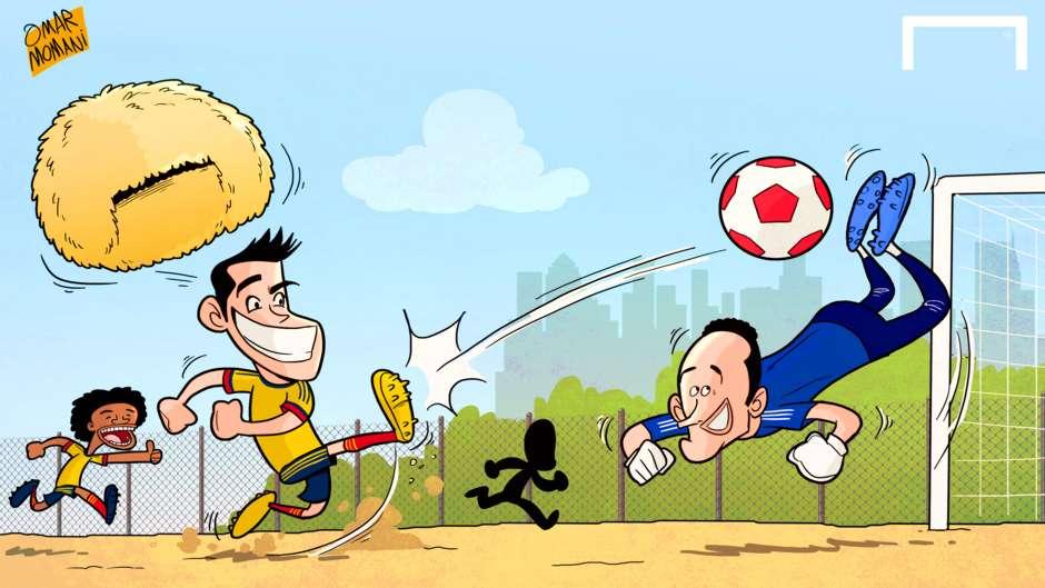 Cartoon Colombia