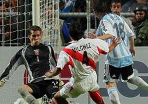 08-07-07 | Lugar: Venezuela – Motivo: C. América Rival: Perú – Resultado: 4-0 - Goles: 1