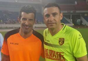 Anibal Matellan Luis Figo Legends