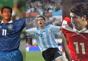 ¿Y si los entrenadores de las Selecciones pudieran traer del pasado a un crack de su país? Estas serían sus elecciones... (¡atención! ¡Maradona y Pelé quedaron afuera del juego!).