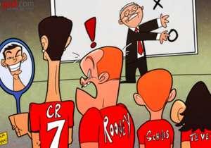 2011. En Manchester United, Carlitos escuchaba las órdenes de Ferguson al lado de varios cracks.