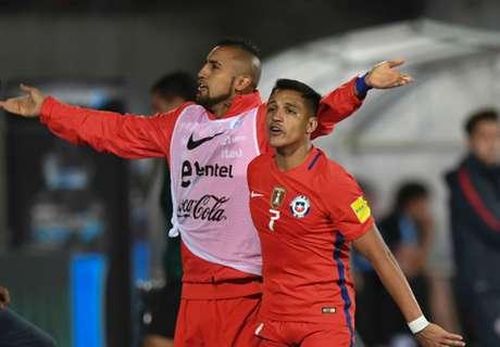 Los goleadores de Chile