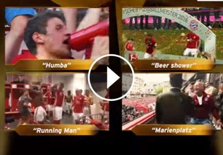 Imperdible: Bayern Munich armó su propia entrega de los Oscar