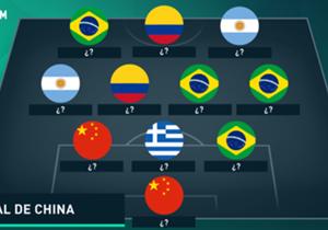 Goal relembra os melhores jogadores do torneio asiático até o momento. Confira quem está no time!
