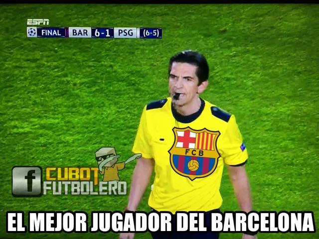 Memes del Barcelona vs PSG