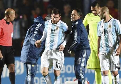 Argentinien bangt um verletzten Messi