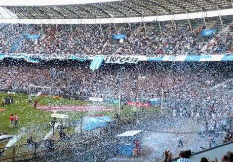 Racing-Boca, sin público visitante