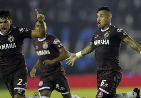 VIDEO: Ayala scores screamer vs Banfield