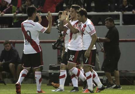 Amistoso: River 3-2 San Lorenzo