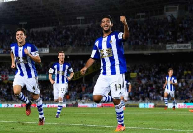Carlos Vela scores in Real Sociedad win over Osasuna