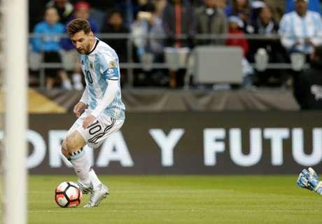 Nutmeg Messi Bikin Malu Kiper Bolivia