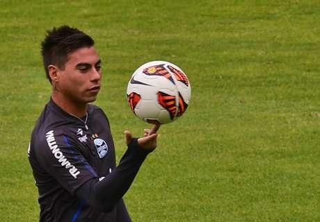 Vargas quiere ir a Flamengo