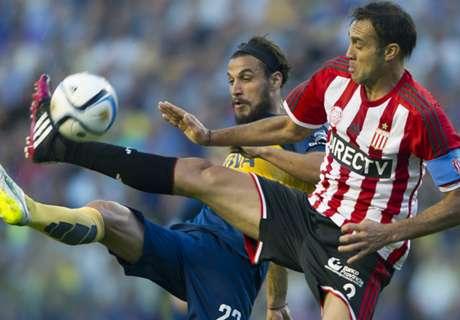 Osvaldo y un gesto a lo Best