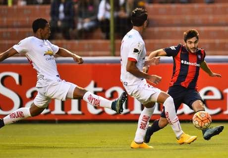 San Lorenzo juega sólo para cumplir