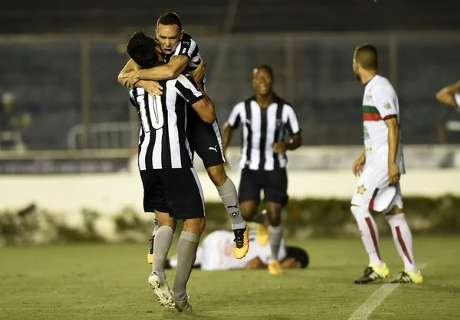 Lizio debutó con un gol en Botafogo