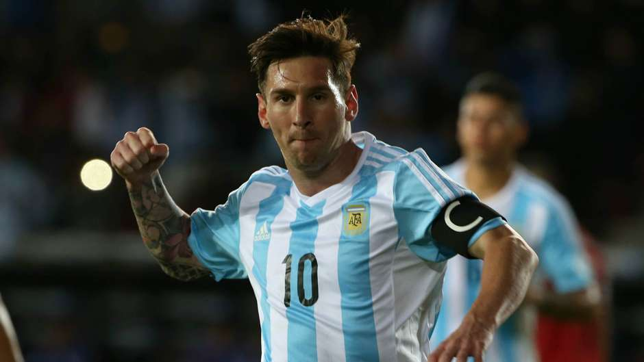 In Pictures: Messi's most memorable Argentina moments as he prepares to win his 100th cap