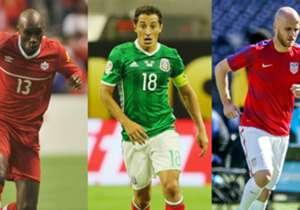 Estos son los jugadores que más pases han completado en lo que va de Eliminatorias de la Concacaf rumbo al Mundial Rusia 2018.