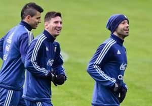 Entrenamiento de la Selección argentina - 1° de julio de 2015 - Copa América
