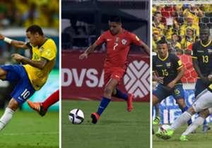 ¿Cuántas veces tiene que tirar al arco un equipo para marcar un gol? En Goal, gracias a las estadísticas de Opta, te mostramos la efectividad que tiene cada equipo de las Eliminatorias frente al arco rival.