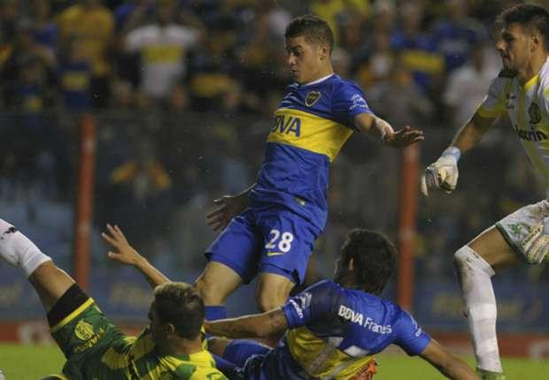 گلزنی الکسیس مسیدورو در اولین بازی رسمی خود برای بوکاجونیورز