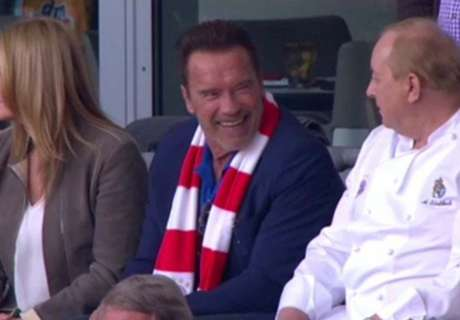 Schwarzenegger animó en Alemania