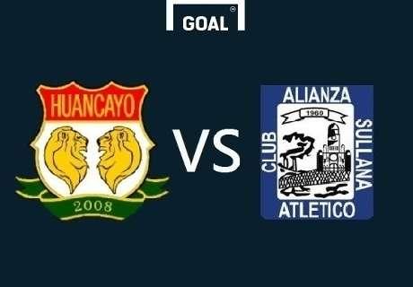 Sport Huancayo aplastó a A. Atlético