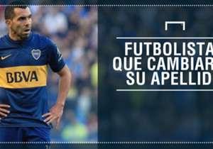 Por diferentes motivos, algunos jugadores argentinos decidieron (o se vieron obligados) a cambiar su apellido y siguieron su carrera con un nombre diferente.