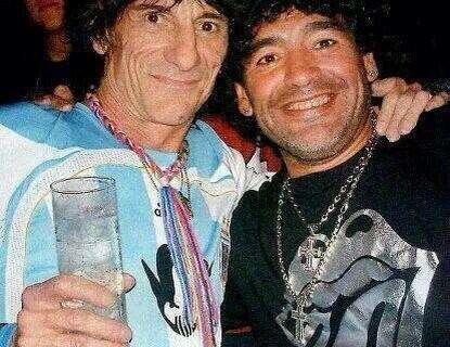 Los Rolling Stones y el fútbol