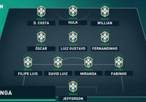 BRASIL (nesta quinta-feira, contra o Chile, às 21h, no Estádio Nacional de Santiago)