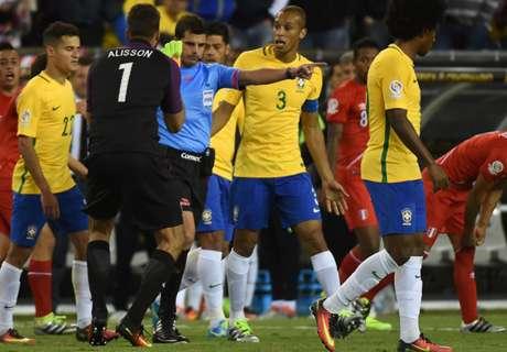 Brazilië discutabel uitgeschakeld