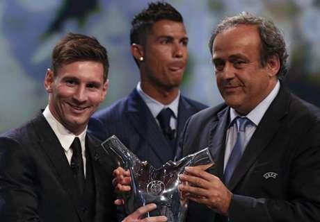 Los premios de Messi