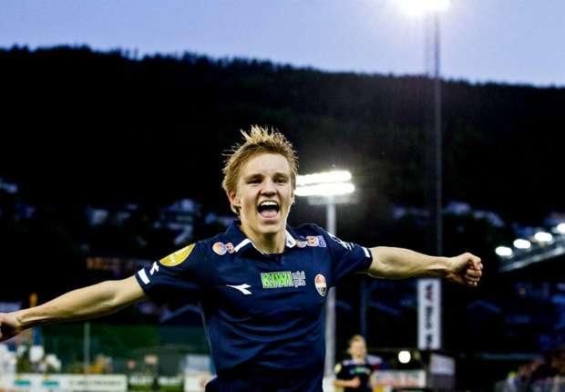Odegaard tiene 15 años y fue convocado a la Selección de Noruega